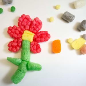 Blumen mit PlayMais® basteln