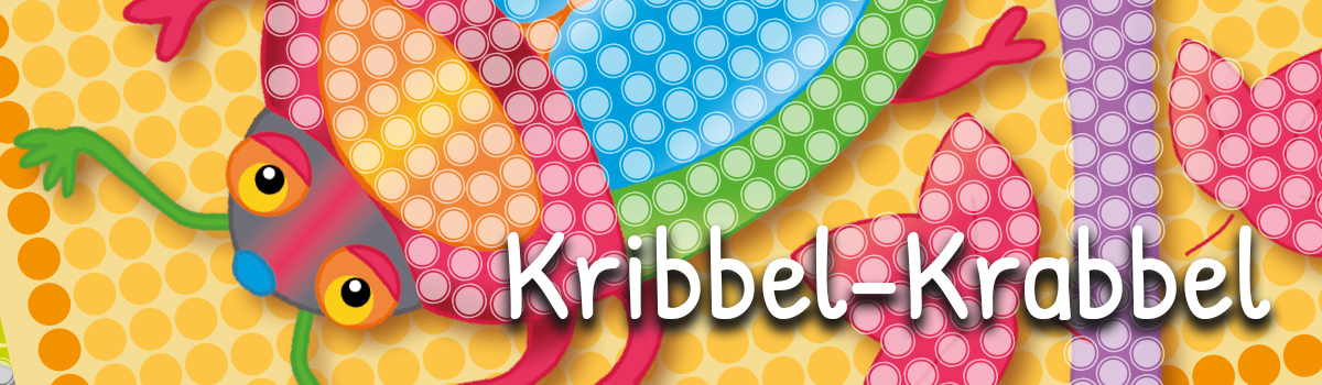 Kunterbuntes Kribbel-Krabbel (Vorlage)