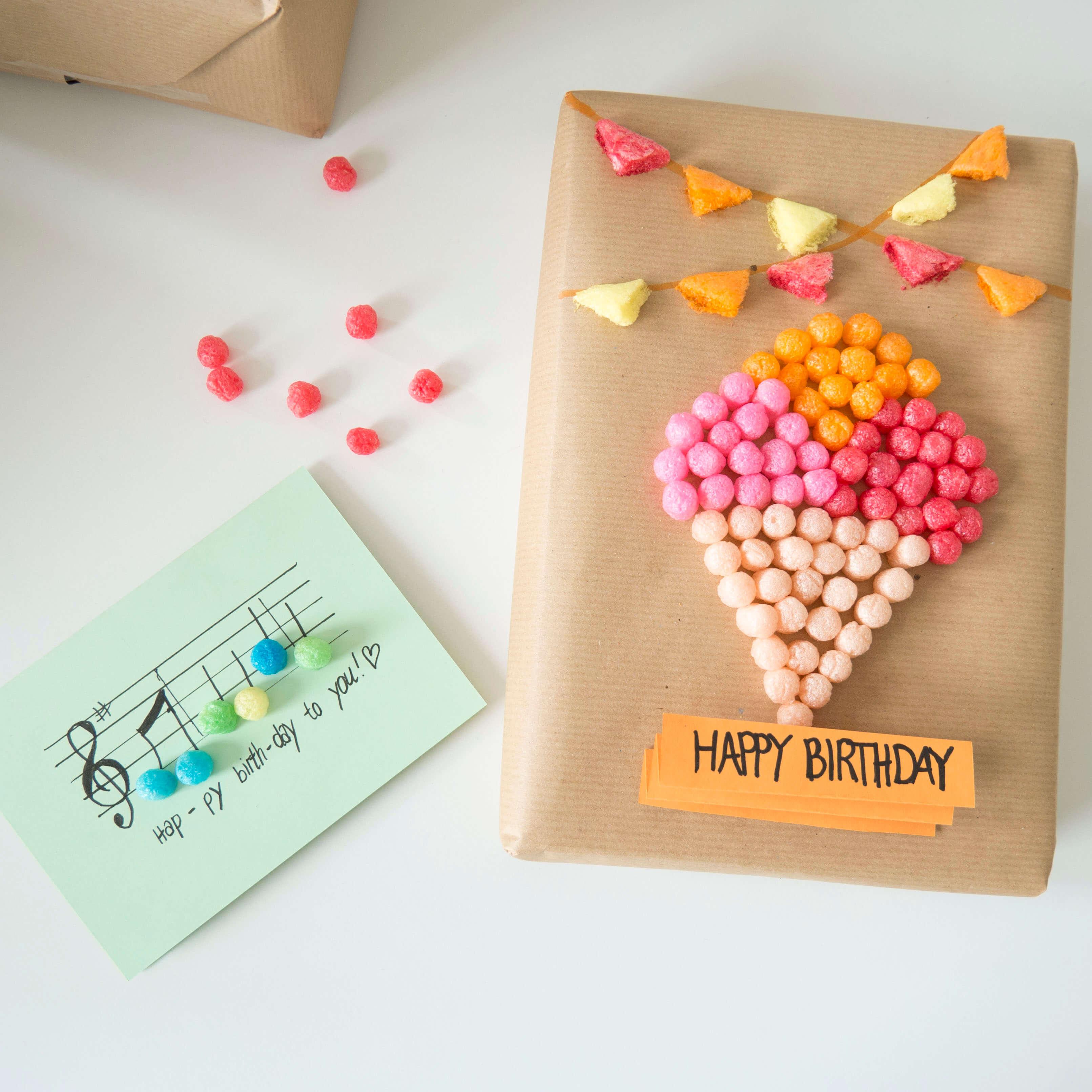 DIY - Kreative Geburtstagskarten und Geschenkverpackungen