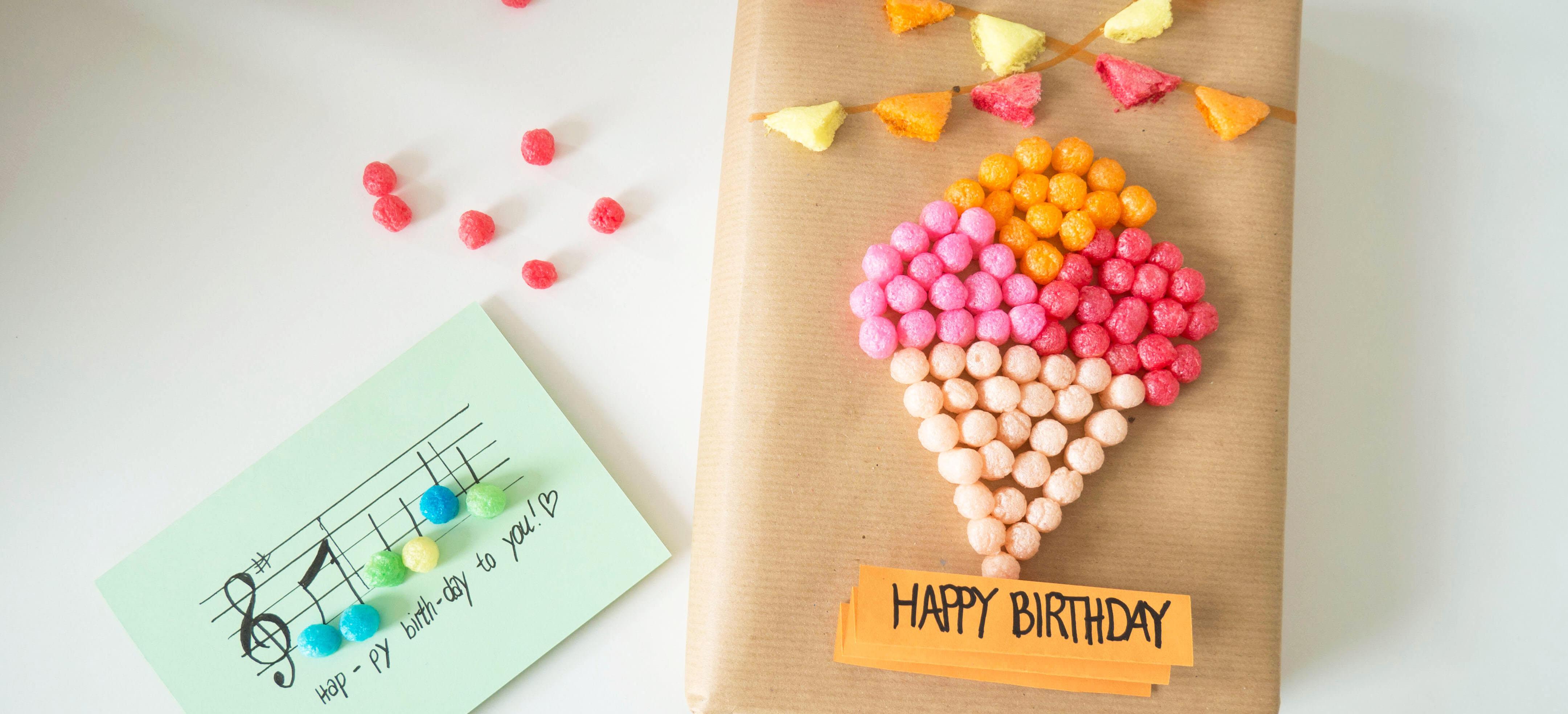 Diy Kreative Geburtstagskarten Und Geschenkverpackungen Selbst