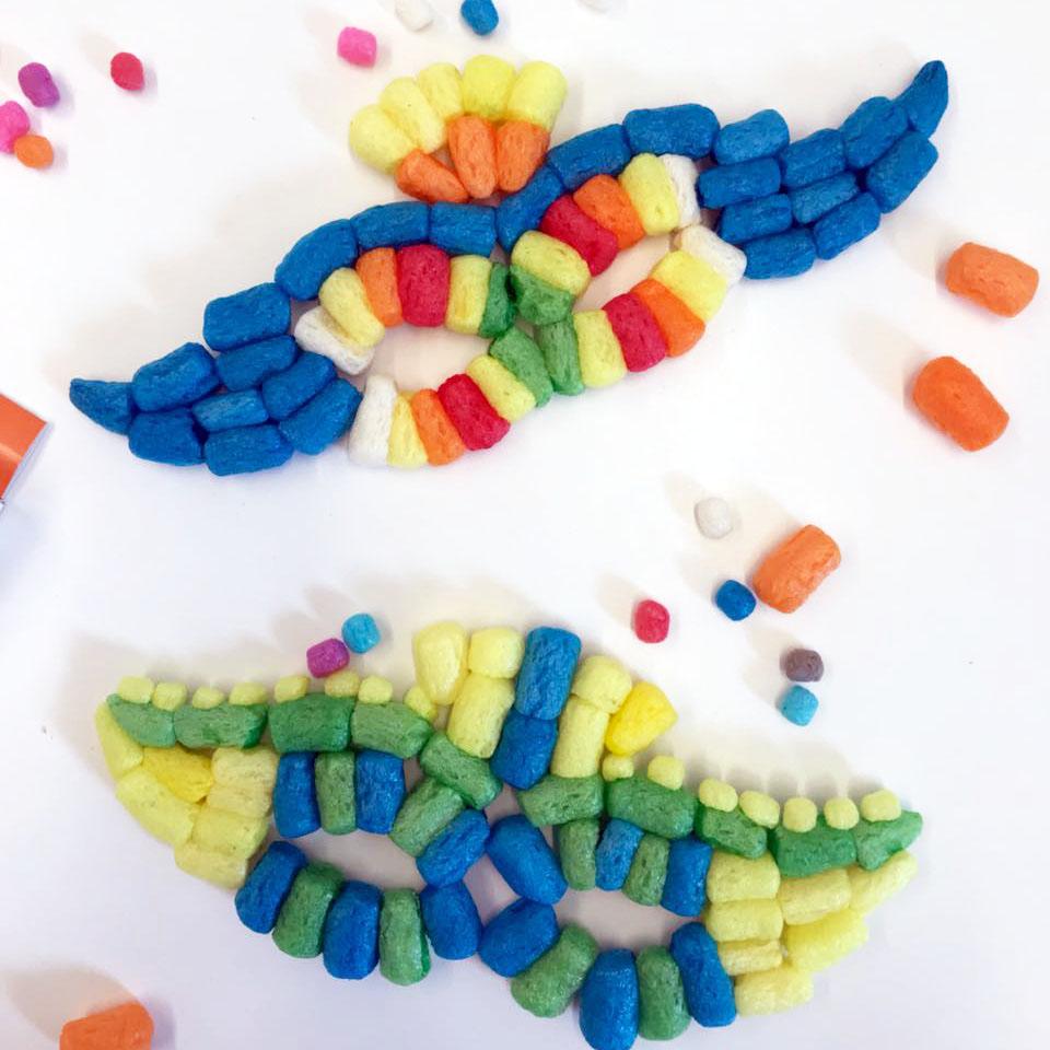 Venezianische Masken mit PlayMais® basteln
